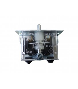 Limit switch with one contact