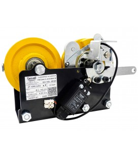 Overspeed governor GV120 for installation in framework, right