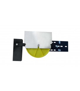 Tension pulley with counterweights Ø300