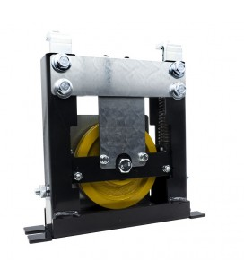 Tension pulley with springs Ø120 mm