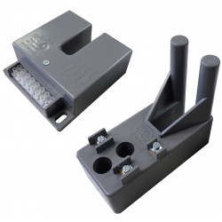 Switches with metal blade operation