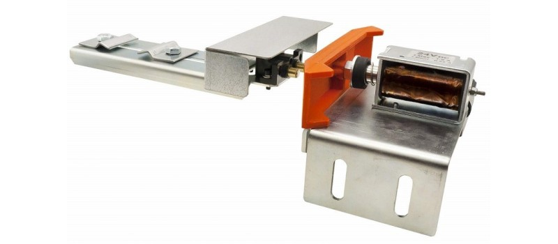 Serial contact for electric safety locks