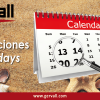 Working Calendar 2020